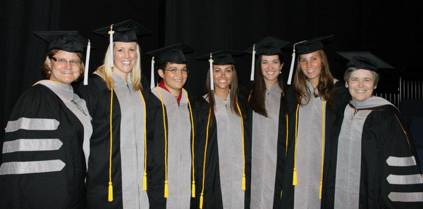 Recipients of Maddie's Certificate in Shelter Medicine, UF CVM Class of 2012